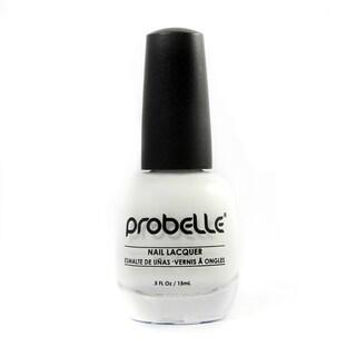Probelle Chalk White Nail Lacquer (White Cream)