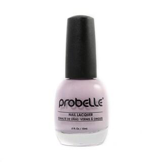 Probelle Cautious Lilac Nail Lacquer (Light Purple Cream)