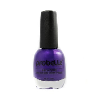 Probelle Flashy Attitude Nail Lacquer (Pearly Purple Cream)