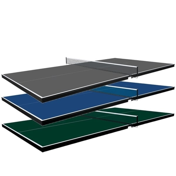 Martin Kilpatrick Pool Table Conversion Top for Table Tennis with 2 Player Set - 2 Rackets and 3 Balls - 3 Year Warranty