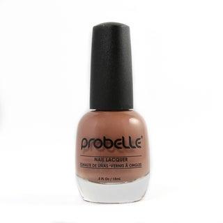 Probelle Overcast Nail Lacquer (Light Brown Cream)
