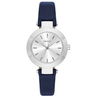 DKNY Women's NY2412 'Stanhope' Blue Leather Watch