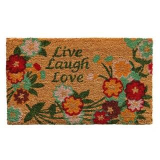 Live Laugh Love Doormat (1'5 x 2'5)