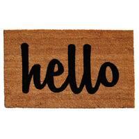 Momentum Mats Cursive Hello Doormat (2' x 3')