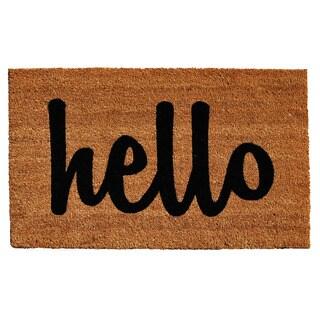 Cursive 'Hello' Doormat (2' x 3')