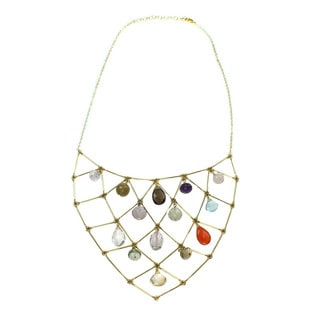One-of-a-kind Michael Valitutti Multi Gemstone Necklace