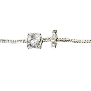 Michael Valitutti Cubic Zirconia Star Charm Set with Bracelet