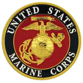 United States Marine Corps Honor Medallion (Red) (Metal)