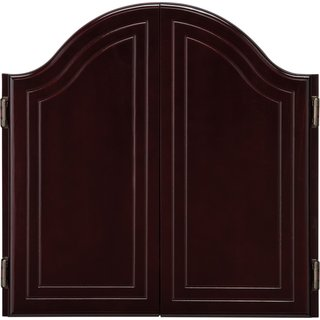 Viper Cambridge Solid Oak Steel Tip Dartboard Cabinet / Model 40-0256