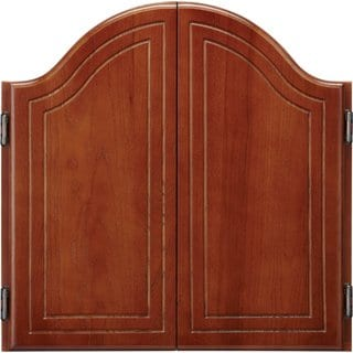 Viper Cambridge Cinnamon Oak Dartboard Cabinet / Model 40-0263