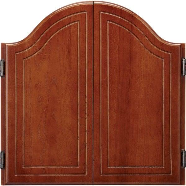 Viper Cambridge Cinnamon Oak Dartboard Cabinet / Model 40-0263