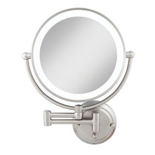 Zadro GLAW45 Glamour Wall Mount Mirrorwith 1x and 5x Magnification