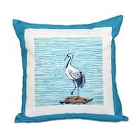 Sandbar Animal Print 18 x 18-inch Outdoor Pillow