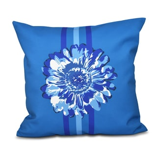 Flower Child 2 Floral 18 x 18-inch Outdoor Pillow