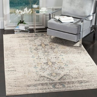 Safavieh Monaco Grey/ Multi Rug (4' x 5' 7)