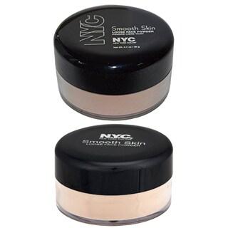 N.Y.C. Smooth Skin Loose Face Powder 2-piece Set