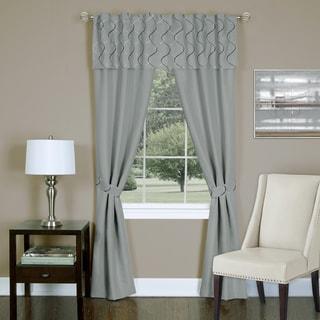 Achim Trellis 5 Piece Window Curtain Set