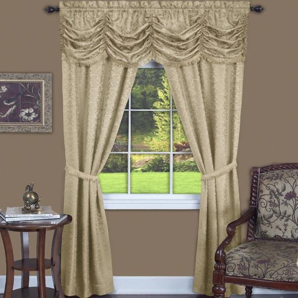 Achim Panache 5 Piece Window Curtain Set
