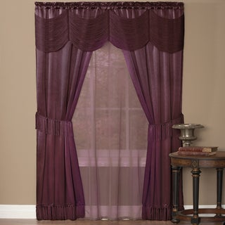 Halley 6 Piece Window Curtain Set