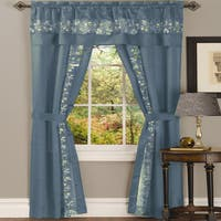 Laurel Creek Alice 5-piece Window Curtain Set