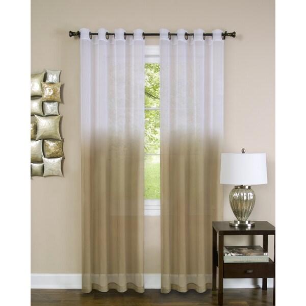 Achim Essence Ombre Grommet Curtain Panel