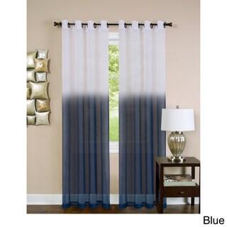 Achim Essence Ombre Grommet Top Single Curtain Panel