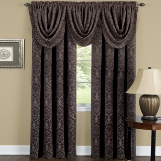 Achim Sutton Window Curtain Waterfall Valance