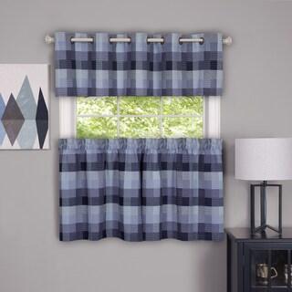 Achim Harvard Plaid Window Curtain Valance (2 options available)