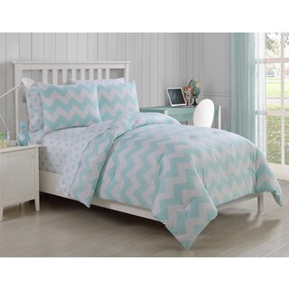 VCNY Leigh 5-piece Twin Bed in a Bag with Sheet Set