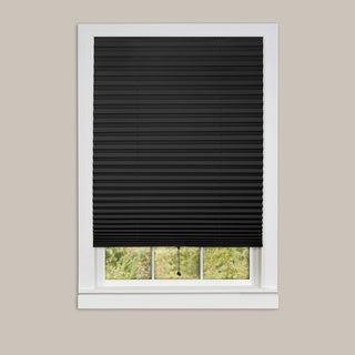 Achim 1-2-3 Vinyl Room Darkening Pleated Window Shade