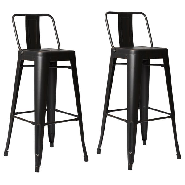 Steel 30 Inch Bar Stool Set Of 2 Free Shipping Today