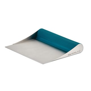 Rachael Ray Tools and Gadgets Stainless Steel Bench Scrape (Marine Blue)