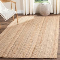 Safavieh Casual Natural Fiber Hand-Woven Natural Jute Rug - 4' x 6'