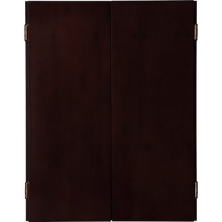 Viper Metropolitan Solid Pine Dartboard Cabinet with Mahogany finish / Model 40-0403 - brown