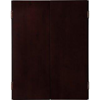 Viper Metropolitan Solid Pine Dartboard Cabinet with Mahogany finish / Model 40-0403 - brown