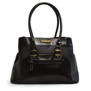 Sag Harbor New Yorker Vegan Leather Satchel Handbag
