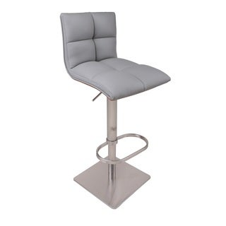 Tristan Ultramodern PU Adjustable Barstool