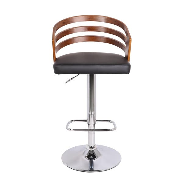 Peachy Shop Bentwood Modern Contemporary Adjustable Bar Stool Ibusinesslaw Wood Chair Design Ideas Ibusinesslaworg