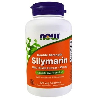 Now Foods Silymarin Milk Thistle 300 mg Extract (100 Veggie Caps)