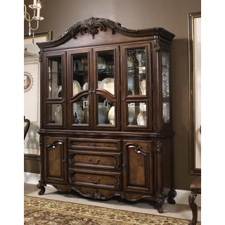 Estella Dark Chestnut Buffet and Hutch