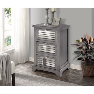 Gallerie Decor Summit Three-drawer Cabinet