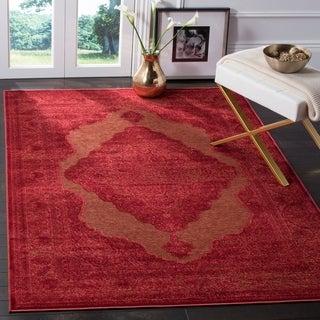 Safavieh Paradise Red Viscose Rug (4' x 5' 7)