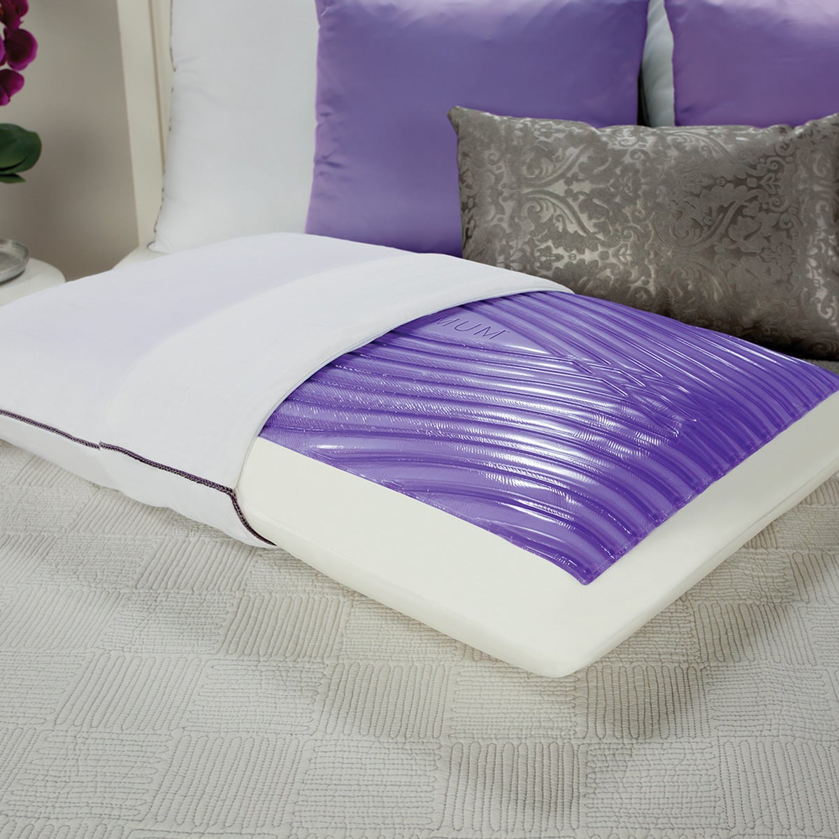 Sealy Optimum Optigel and Memory Foam Bed Pillow (Queen),...