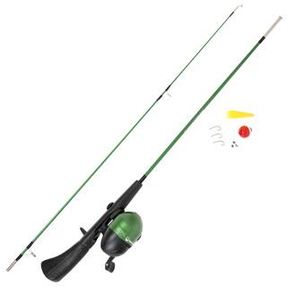 Wakeman Spawn Series Kids Spincast Combo and Tackle Set - Green|https://ak1.ostkcdn.com/images/products/11718211/P18638920.jpg?impolicy=medium