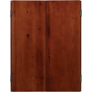 Viper Metropolitan Solid Pine Dartboard Cabinet with Cinnamon finish / Model 40-0405