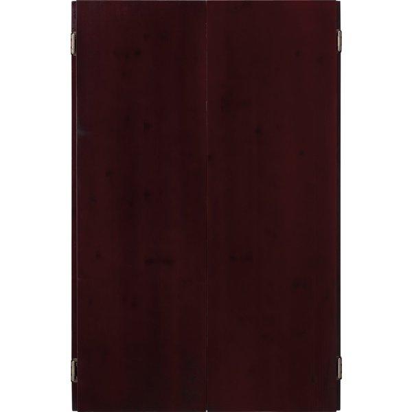 Viper Metropolitan Electronic Soft Tip Dartboard and Mahogany Finish Dartboard Cabinet / Model 40-04