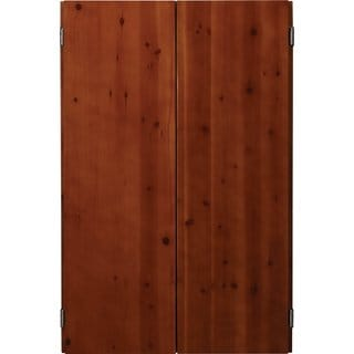 Viper Metropolitan Electronic Soft Tip Dartboard and Cinnamon Finish Dartboard Cabinet / Model 40-04