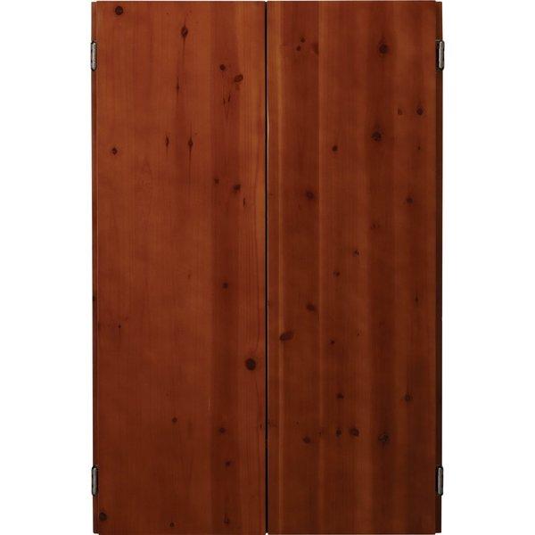 Viper Metropolitan Electronic Soft Tip Dartboard and Cinnamon Finish Dartboard Cabinet / Model 40-04