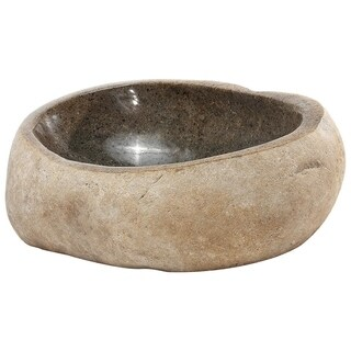 Y-Decor Lucki-SS Natural River Stone Sink