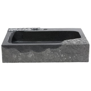 Y-D cor Jaki Artistic Black Granite Vessel Sink